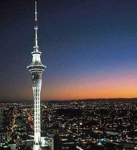 天空塔夜景