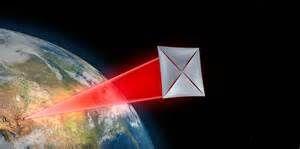 突破摄星计划将会使用激光推动的飞行器