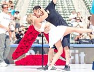 情侣举行史上最强运动系婚礼