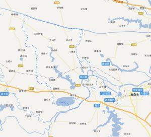 凤台县地图