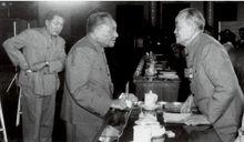 邓小平与中国社会科学院院长胡乔木