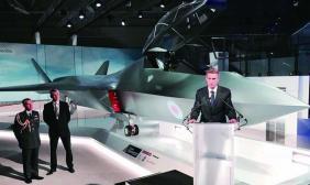 范堡罗航展英高调展示六代战机 最快2035年服役