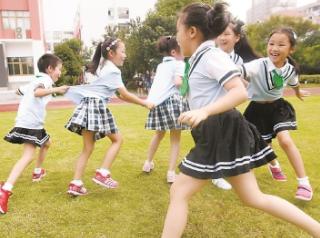 """两三年后沪小学阶段将全面实现""""每天一节体育课"""""""