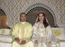 穆罕默德六世国王与皇后