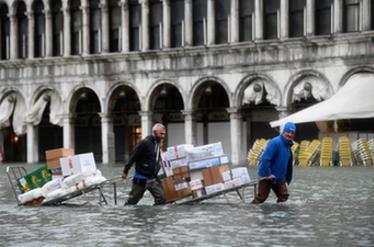 威尼斯洪灾