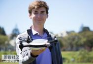 18岁少年造出全球最快无人机