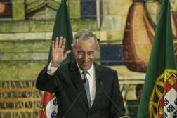 总统马塞洛·雷贝洛·德索萨