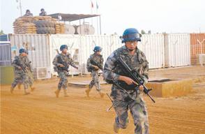 中国赴苏丹维和工兵完成新年度首次施工勘察任务
