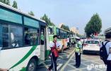 当假期遇上中考,山东公安交警全程护考