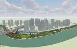 塘河氛围+新兴商业 海曙新典路南滨江绿化带规划设计来了