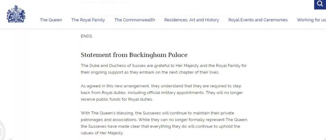 """哈里夫妇与英国王室成功""""分家"""",代价几何?"""
