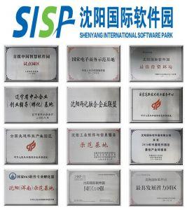 沈阳国际软件园资质荣誉