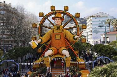 法国芒通举办第87届柠檬节