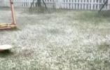 晌午31℃ 傍晚下冰雹!湖州半天从夏回到冬
