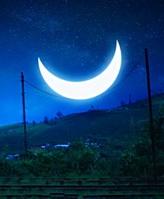 落入凡间的月亮