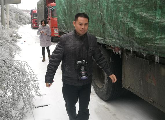 贵州应急厅减灾中心任飞:做好受灾群众的守护人