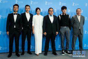 电影《长江图》主创团队亮相柏林电影节