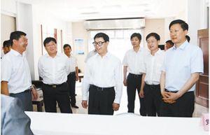 河北省委常委、组织部长梁田庚到沧州市调研