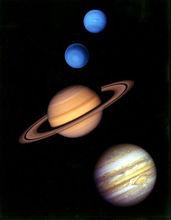 所有的外行星