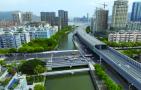 江滨西路灰桥浦桥拆建施工收尾,4月22日全面通车
