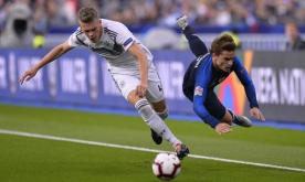 France down Germany in Paris