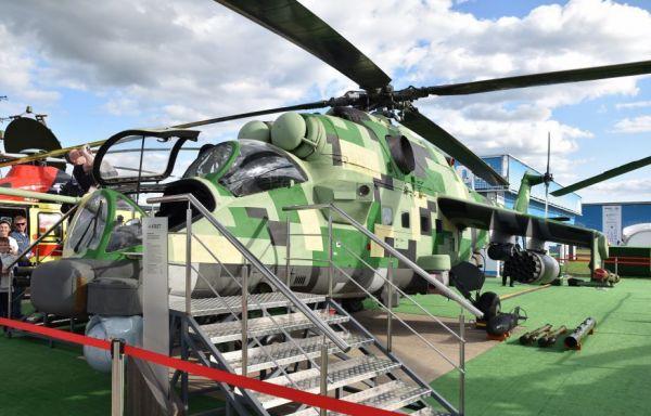 俄军首架米-24P-1M武直完成数字化升级 即将交付测试