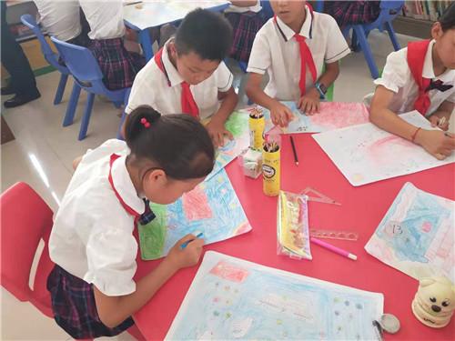 """""""我的祖国我的家""""儿童公益绘画比赛启动"""