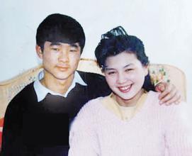 刘伯明和妻子张瑶