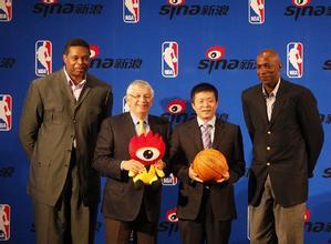 新浪签约NBA