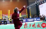 首屆江蘇省傳統武術大賽在豐縣舉行 600余名武林高手亮出看家本領