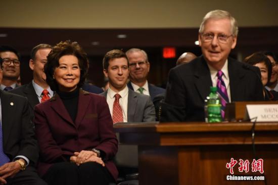 美参院多数党领袖预审参院弹劾案 或于圣诞前结束