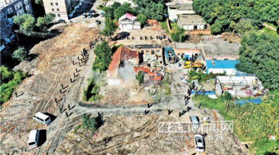 哈尔滨林园路土储项目全面实现征收净地
