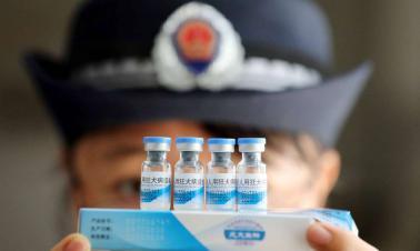 Govt sacks 6 officials over vaccine scandal