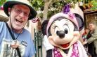 美国男子连续2000天风雨无阻游迪士尼乐园 创下记录