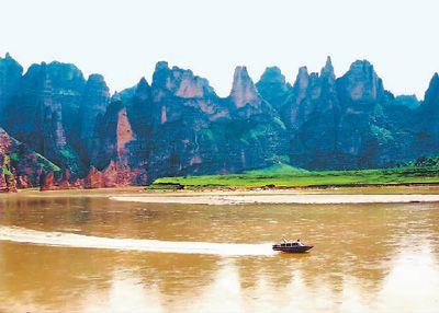 穿行黄河小三峡