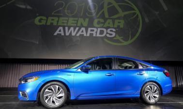 Honda Insight wins 2019 Green Car of the Year Award at LA Auto Show