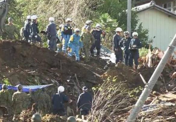 """台风""""海贝思""""已致日本61死211伤 超13万户仍断水"""